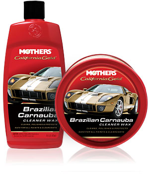 California Gold® Brazilian Carnauba Cleaner Wax