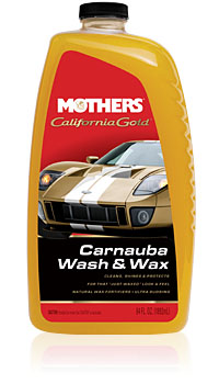 California Gold® Carnauba Wash & Wax