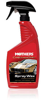 California Gold® Spray Wax
