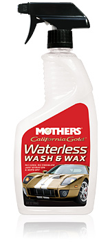 California Gold® Waterless Wash & Wax